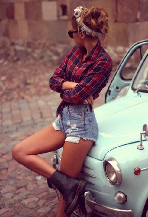 Jeans Jeanshorts kurze Jeanshosen Jeans Plaid 2015 Herbst Winter Plaid Mode und Modelle
