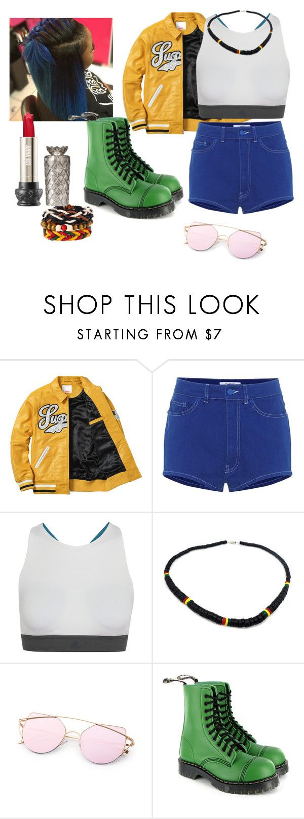 """""""Jamaica Fever"""" by penny44224 ❤ liked on Polyvore featuring Givenchy, adidas and Vegetarian Shoes"""
