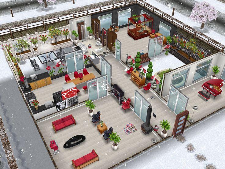 168 besten sims freeplay house design ideas bilder auf - Sims 3 spielideen ...