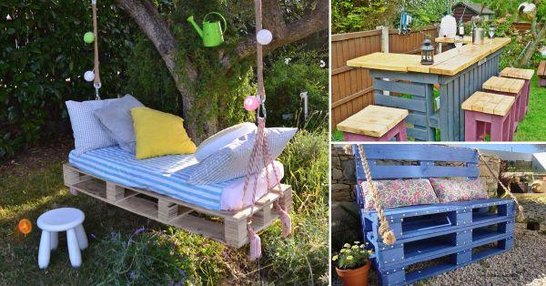 #DIY #Reciclar  #Pallets 6 fáciles ideas para lograr fabulosos muebles con pallets