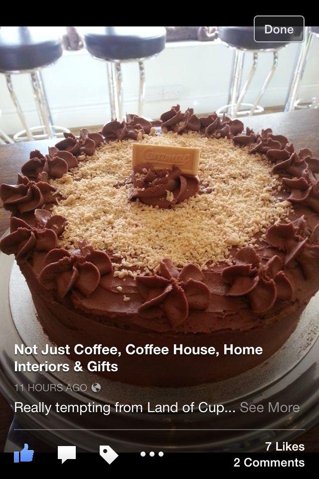 Chocolate Caramac cake