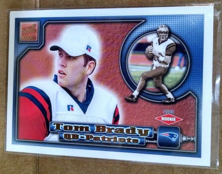 2000 Aurora #84 Tom Brady Rookie Card #NewEnglandPatriots