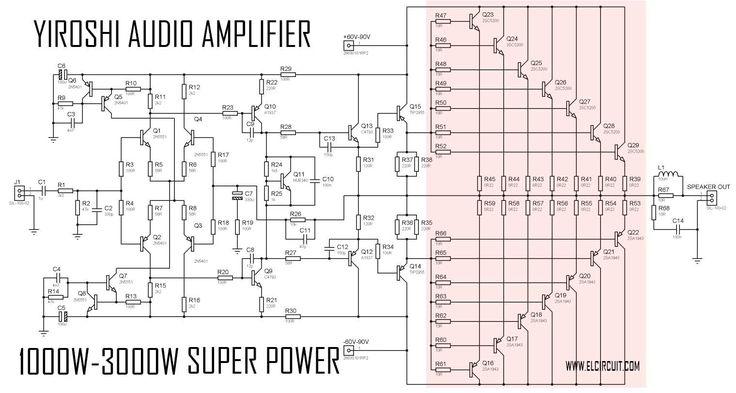 Super Power Amplifier Yiroshi Audio - 1000 Watt | Audio ...