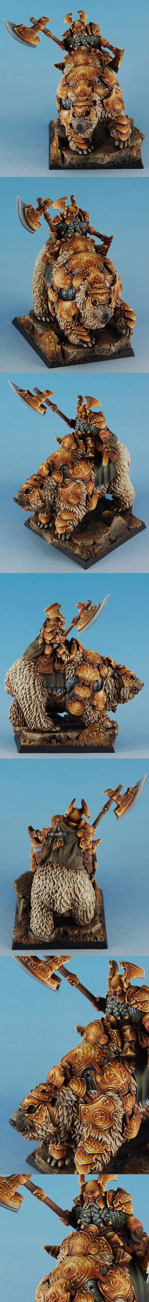 Dwarf General on War Bear