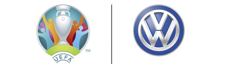 Volkswagen became a new partner of UEFA and will support the UEFA 2020 European Football Championship! Image source: www.volkswagen.co.uk