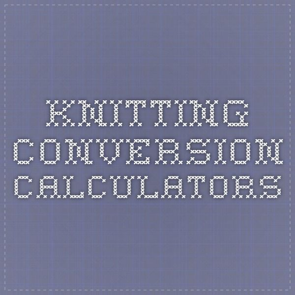 Knitting Gauge Calculator : Best images about super crafty calculations on