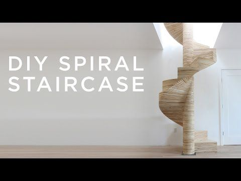 DIY Design: Build Your Own Spiral Staircase From Simple Plywood Templates…