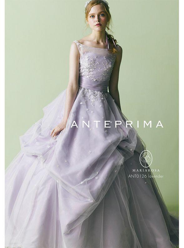 アクア・グラツィエがセレクトした、ANTEPRIMA(アンテプリマ)のウェディングドレス、ANT0126をご紹介いたします。