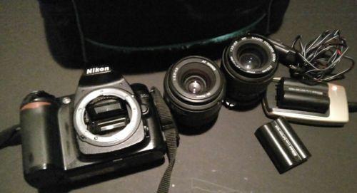 Nikon D D50 6.1MP Digitalkamera - Schwarz dazu 2x Objektive u. Viele Extrar Top!sparen25.com , sparen25.de , sparen25.info