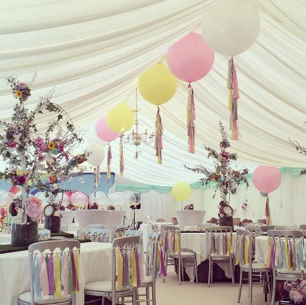 Wedding Balloon Marquee.