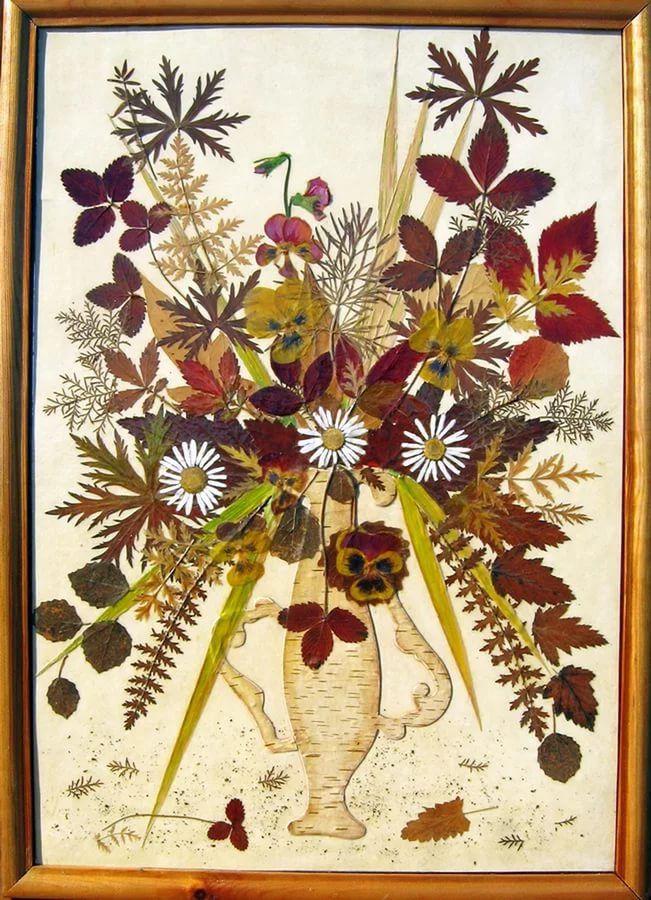 Открытка плоскостная флористическая, надписями