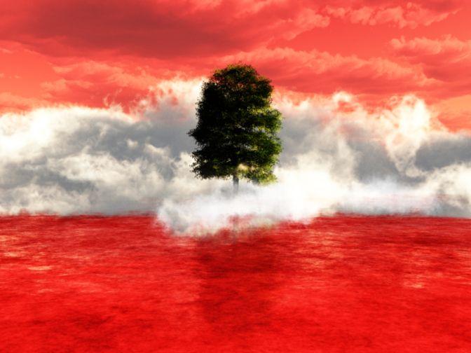 Blog Lebanon Flag -- Full Right Reversed By Copyrights Owner