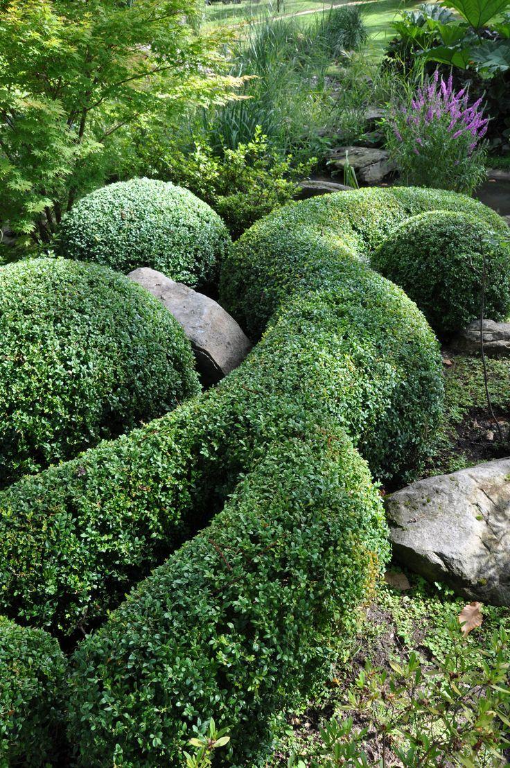 Jardin japonais à Montmorency (Val d'Oise - France). Photo et création Taffin