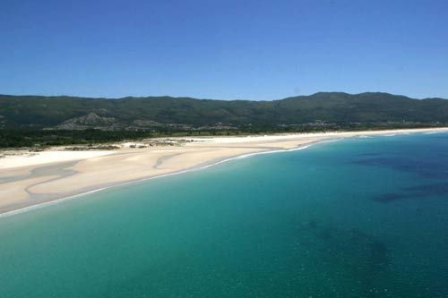 Playa de Carnota. A Coruña