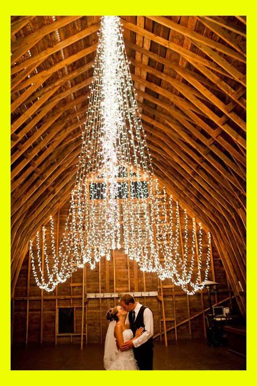 wedding lighting ideas | how to decorate your wedding with twinkle lights