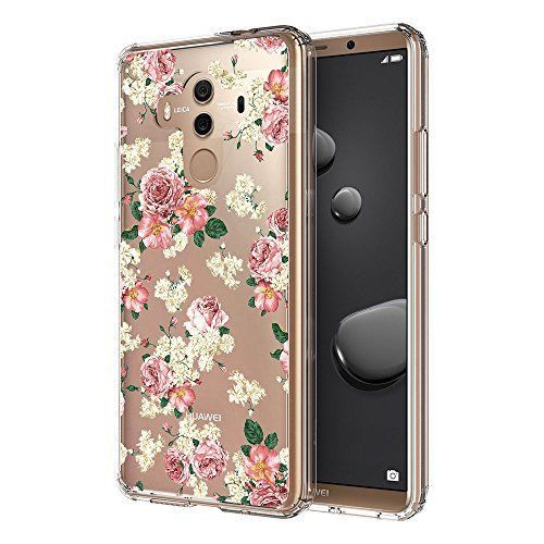 Huawei Mate 10 Pro Case Slim Bumper TPU Gel Protective Back Cover Floral Clear  #HuaweiMate10Pro