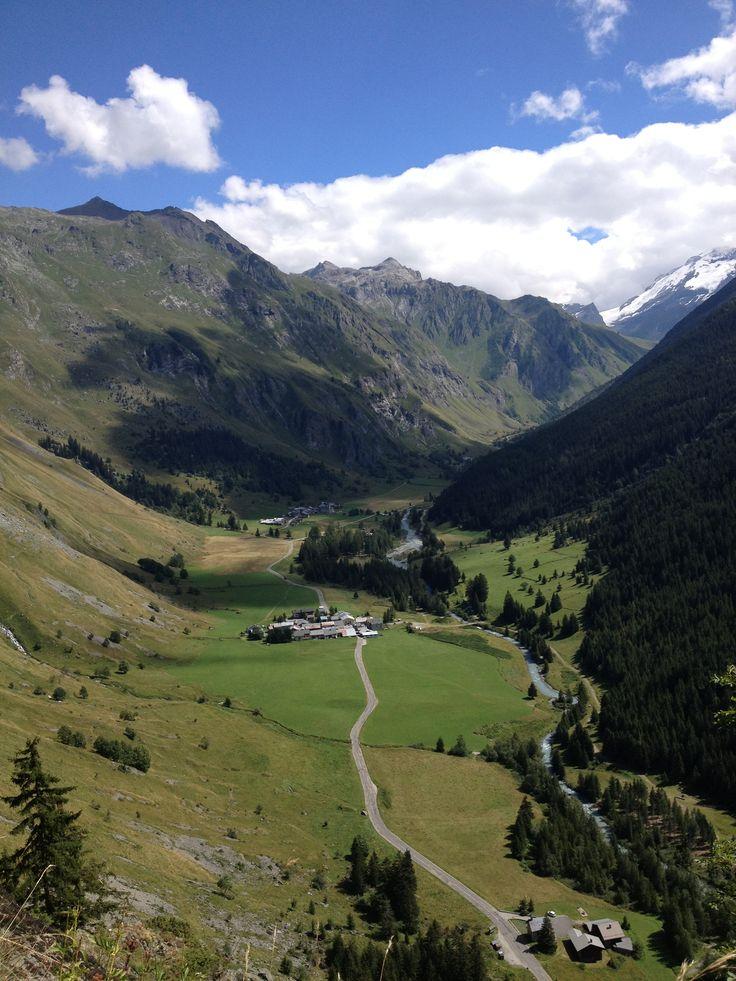 Vallée de Champagny en Vanoise (alpes)