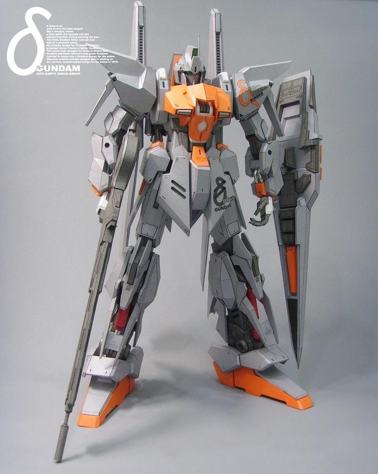 Papercraft AEUG Gundam