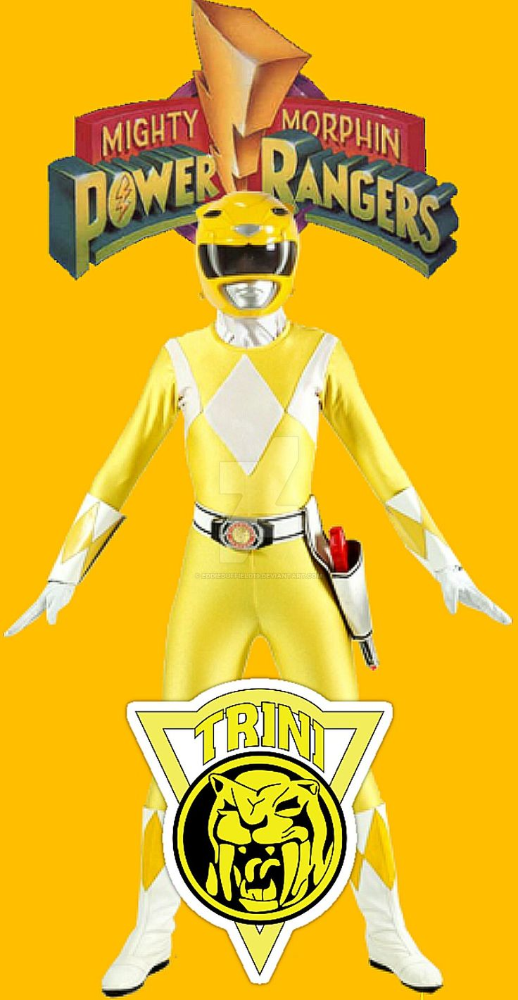 Mighty Morphin Power Ranger: Yellow Ranger Trini!