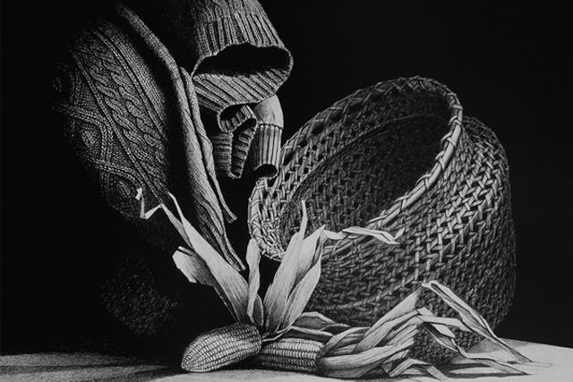 Famous Artist Pencil Drawings Fuit And Veg Google Search