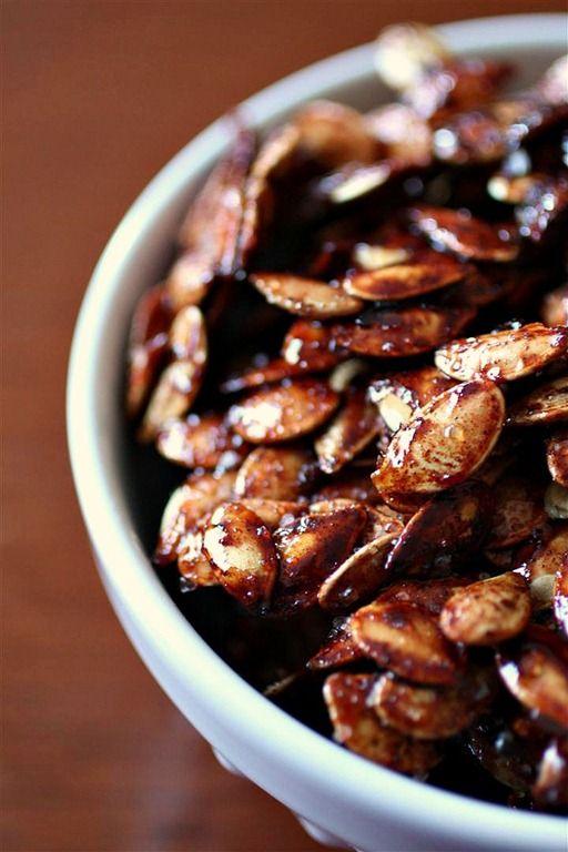 Sweet & Salty Roasted Pumpkin Seeds