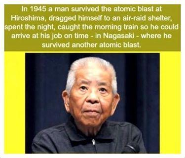 Tsutomu Yamaguchi (March 16, 1916 – January 4, 2010)