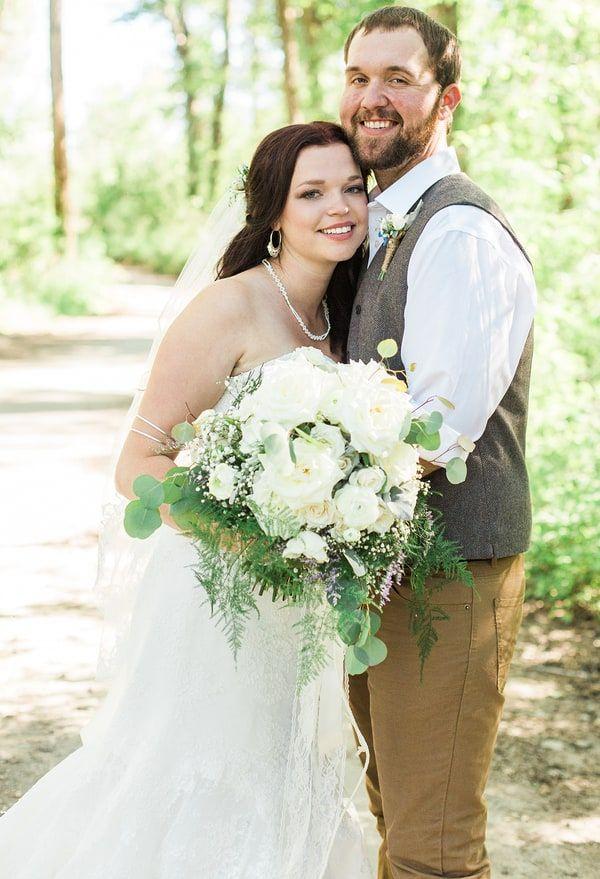 'Sister Wives' star Maddie Brown married her fiancé, Caleb Brush, in an intimate outdoor ceremony in Bozeman, Montana, on Saturday, June 4 — read more and see the first exclusive photo
