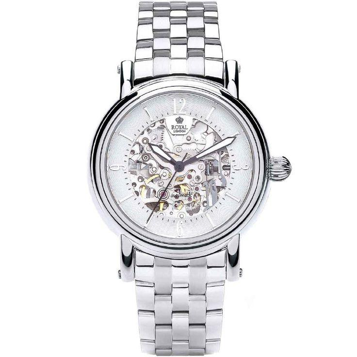 Royal London Heren Horloge RL.41150-07 Automaat Skeleton