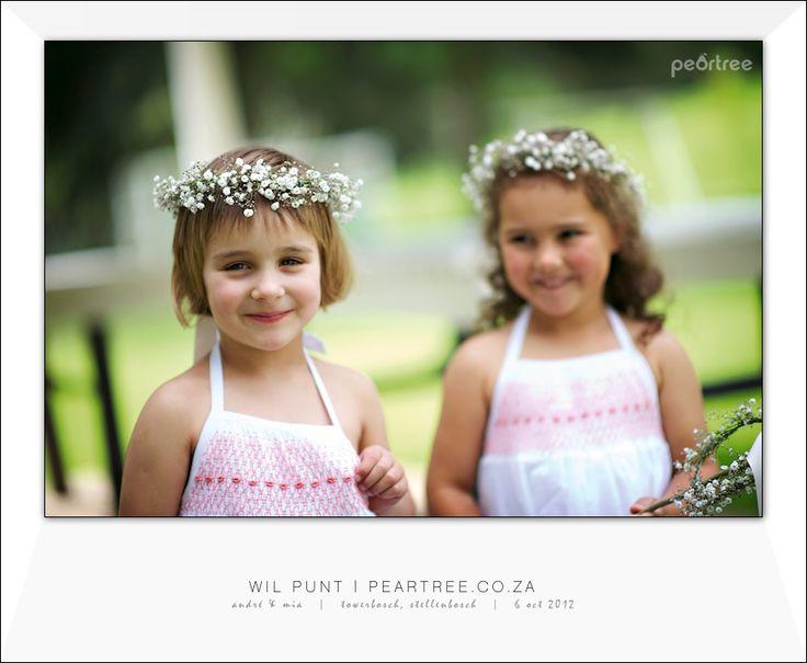 Flower girls babybreath crowns