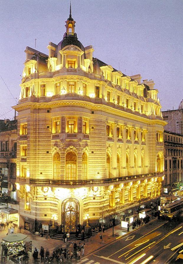 Cumplió cien años el señorial edificio del Centro Naval  BUENOS AIRES ARGENTINA
