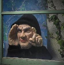 Spooky Animated Tapping Window Peeping Tom Man Outdoor