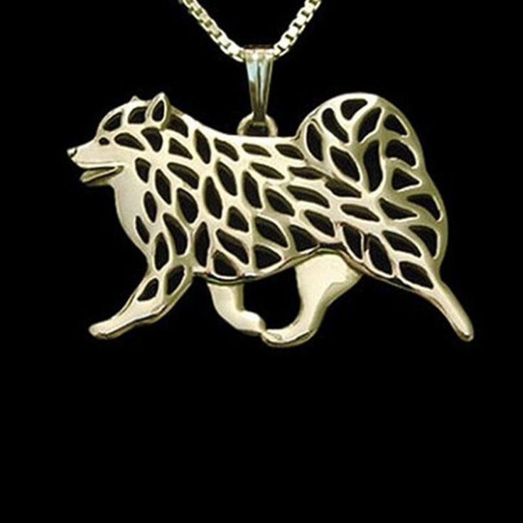 Samoyed Necklace