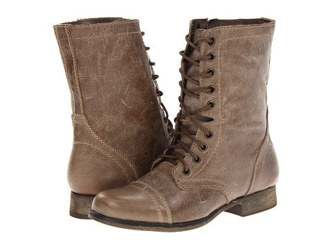 Steve Madden Troopa Oh my there are LOTS more colors than in the Steve Madden store....Choices?