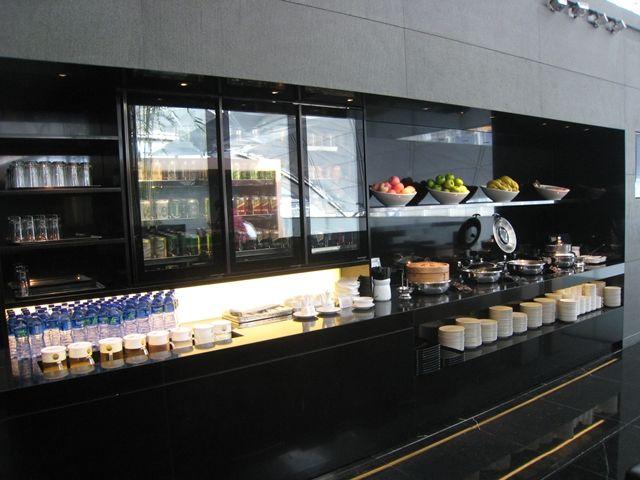 Breakfast buffet, The Wing Business Class Lounge
