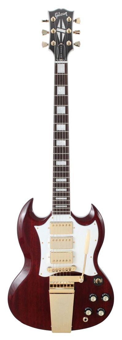 #Gibson Captain Kirk Douglas Roots SG Custom