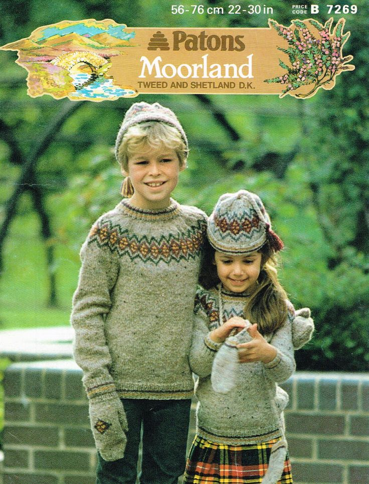 44 best Knitting Patterns Fair Isle Intarsia & Multi Coloured ...