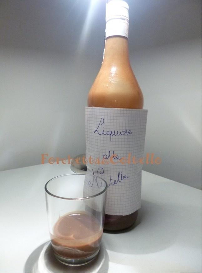 Liquore alla nutella - ricetta golosa | Forchetta & Coltello