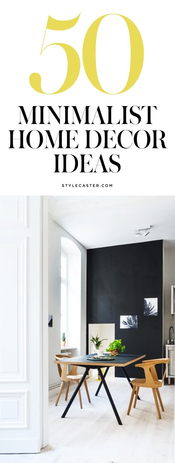 50 Gorgeous Home Decor Ideas For Minimalists