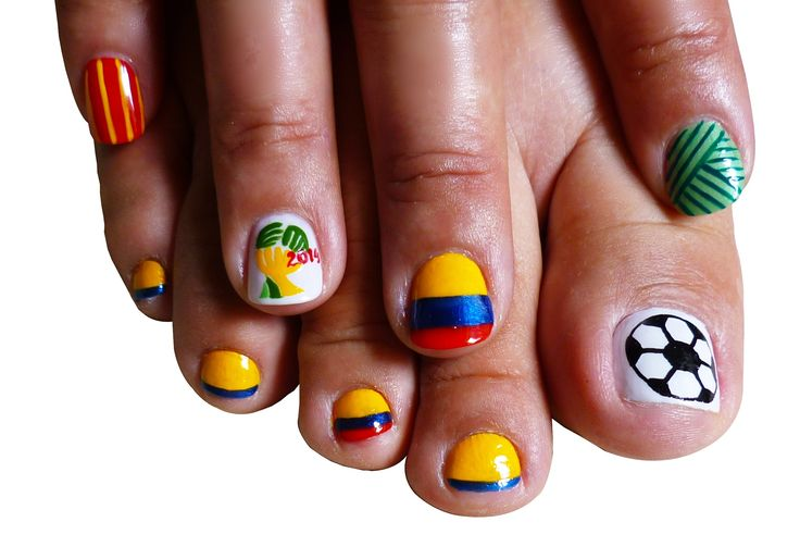uñas de colombia #nail art mundial