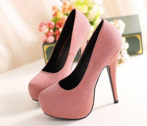Pink high heels 💕