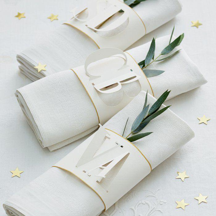 Créer des ronds de serviette                                                                                                                                                                                 Plus