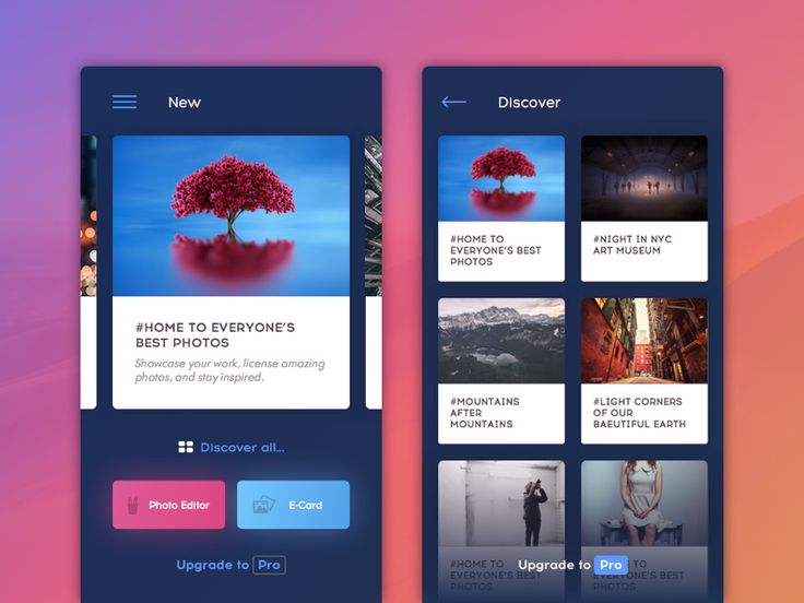 Hey guys, I've been working recently on redesign of well-known app that makes editing of photos on mobile devices as simple as it can be.  Follow us: Behance | Twitter | Facebook