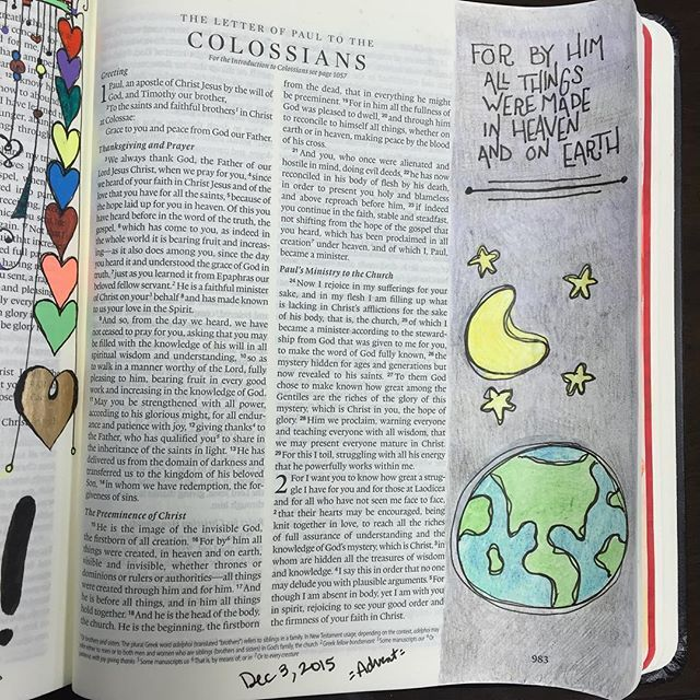 17 best images about colossians bible journaling on pinterest
