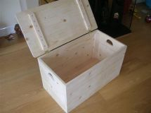 9 Free DIY Toy Box Plans That The Children In Your Life Will Love: Simple Storage Box from Instructables