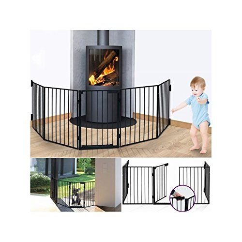 ProBache – Barrière de sécurité pare-feu cheminée et grille de protection enfant: Optez pour cette barrière 5 pans afin de tenir vos…