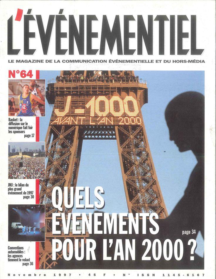 L'ÉVÉNEMENTIEL n°64 (novembre 1997) Quels événements pour l'an 2000 ?