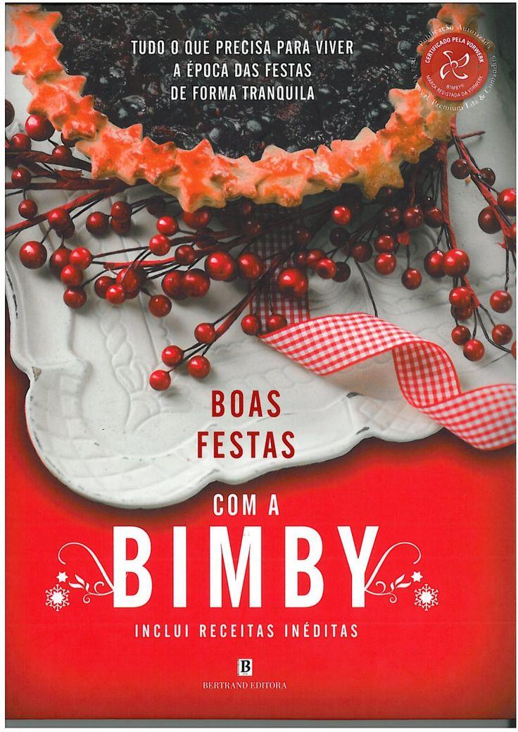 Livro boas festas com a bimby