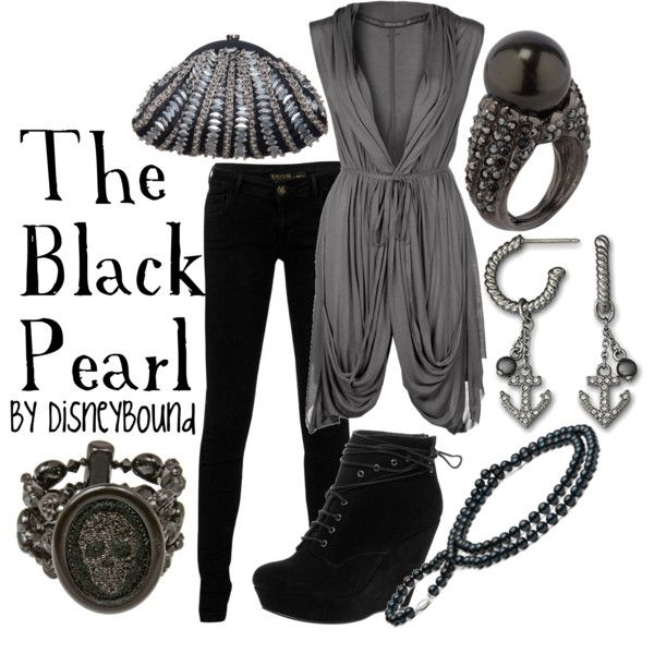 """""""The Black Pearl (Pirates of the Caribbean)"""" by lalakay on Polyvore"""