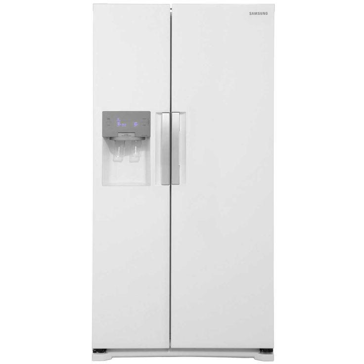 Samsung H-Series RS7667FHCWW American Fridge Freezer - Gloss White £919