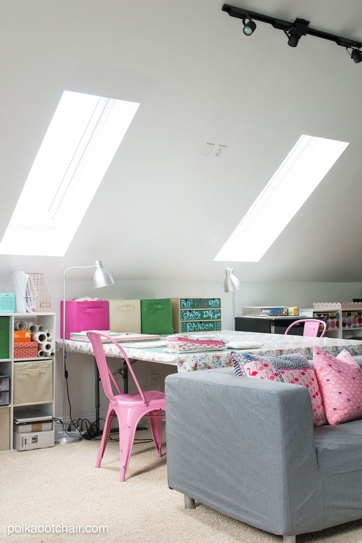 100 best images about craft room on pinterest crafts for Cool ways to organize your room